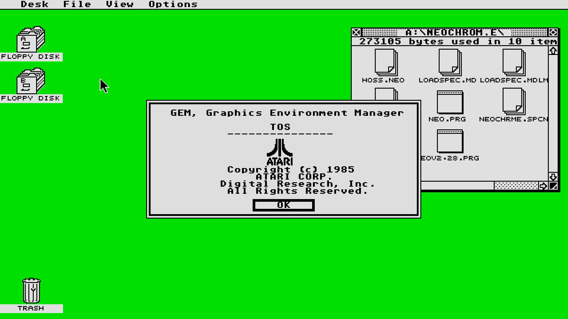 Atari ST and Amiga Desktop Wallpapers | Steve Netting